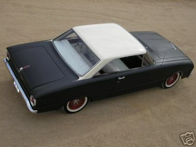 1963 Ford Falcom Futura Coupe Rat Rod